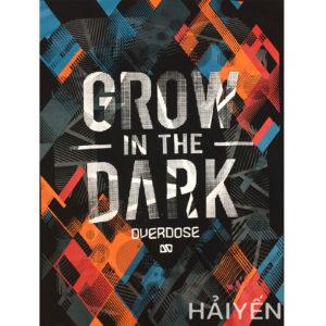Ao thun OverDose Thai Lan mau den in chu Grow in The Dark T0018