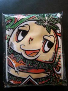 Logo Áo thun Thái Lan màu trắng in 3D bánh Hamburger cười ngộ nghĩnh T0179