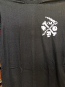 Áo thun Thái Lan in 3D logo lưỡi hái trắng trên góc ngực trái T0200